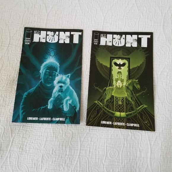 Hunt Adult Comic Books 2016 #1 & 2